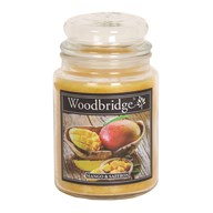 Mango & Saffron Woodbridge Large Scented Candle Jar