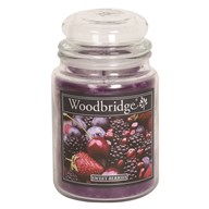 Sweet Berries Woodbridge Large Scented Candle Jar