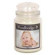 Baby Powder Woodbridge Large Scented Candle Jar