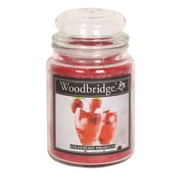 Strawberry Prosecco Woodbridge Large Scented Candle Jar