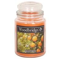 Orange Grove Woodbridge Large Scented Candle Jar