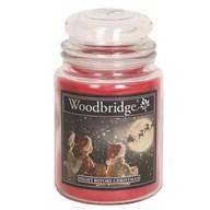 Night Before Christmas Woodbridge Large Scented Candle Jar