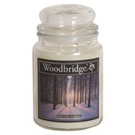 Winter Forest Woodbridge Large Scented Candle Jar