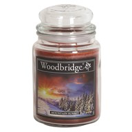 Mountain Sunset Woodbridge Large Scented Candle Jar