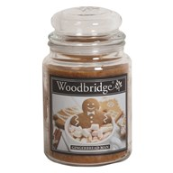 Gingerbread Man Woodbridge Large Scented Candle Jar