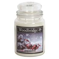 Tis The Season Woodbridge Large Scented Candle Jar