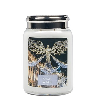 Angel Wings Village Candle 26oz Scented Candle Jar