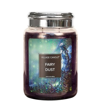 Fairy Dust Village Candle 26oz Scented Candle Jar
