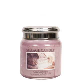 Cozy Cashmere Village Candle 16oz Scented Candle Jar