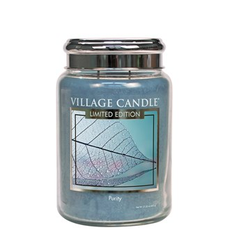 Purity Village Candle 26oz Scented Candle Jar - Metal Lid