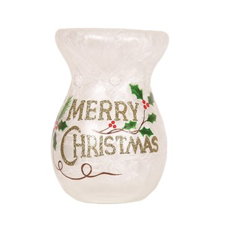Merry Christmas Wax Melt Burner 14cm