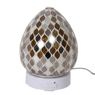 LED Ultrasonic Diffuser - Gold Mirror Teardrop