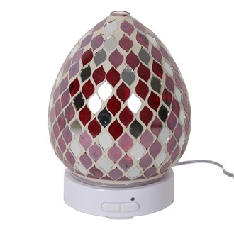 LED Ultrasonic Diffuser - Red Mirror Teardrop