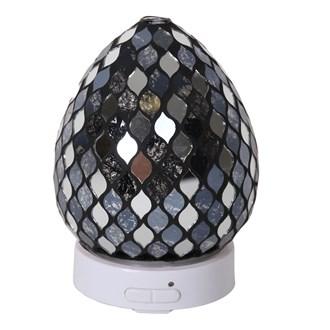 LED Ultrasonic Diffuser - Black Mirror Teardrop