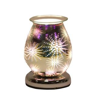Oval 3D Electric Wax Melt Burner - Firework