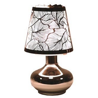Electric Lamp Wax Melt Burner - Leaf Carousel