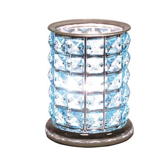 Touch Electric Wax Melt Burner - Blue Crystal