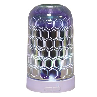 3D Ultrasonic Diffuser - Hexagon