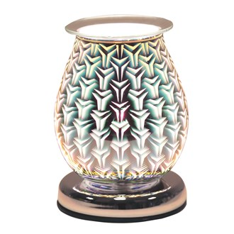Oval 3D Electric Wax Melt Burner - Tri Star
