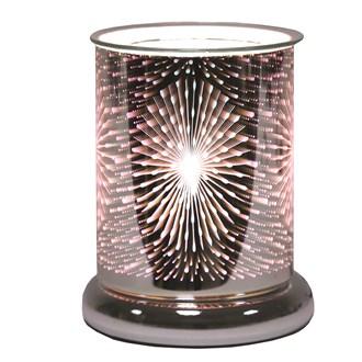 Cylinder 3D Electric Wax Melt Burner - Fountain