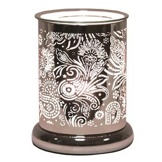 Silhouette Electric Wax Melt Burner - Paisley