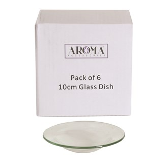 Spare 10cm Glass Dish (Pack6)