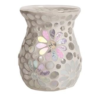 Wax Melt Burner - Pearl Floral