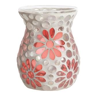 Wax Melt Burner - Pink Floral