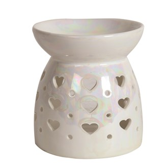 Wax Melt Burner - Lustre Hearts
