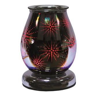 Electric Wax Melt Burner LED Colour Changing - 3D Firework