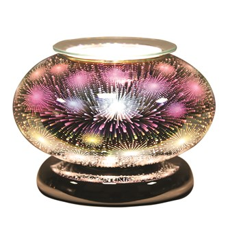 Electric Wax Melt Burner Touch - 3D Fountain Ellipse