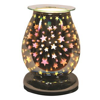 Electric Wax Melt Burner Touch - 3D Star Oval