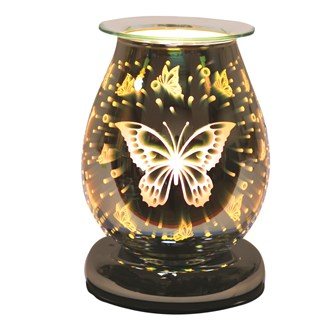 Electric Wax Melt Burner Touch - 3D Butterfly Oval