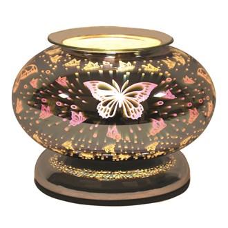 Electric Wax Melt Burner Touch - 3D Butterfly Ellipse