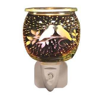 Wax Melt Burner Plug In - 3D Doves
