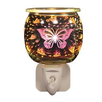 Wax Melt Burner Plug In - 3D Butterfly