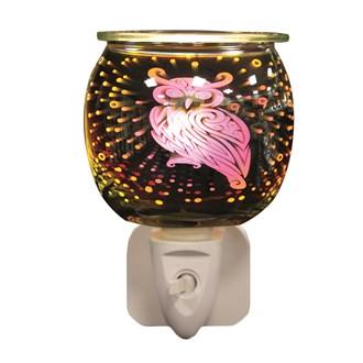 Wax Melt Burner Plug In - 3D Owl