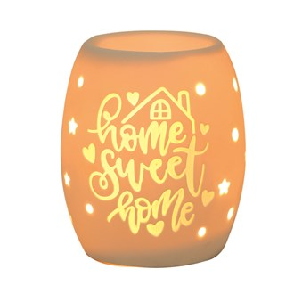 Electric Wax Burner – Ceramic Home Sweet Home