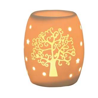 Electric Wax Burner – Ceramic Tree