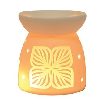 Wax Melt Burner - Ceramic Lotus