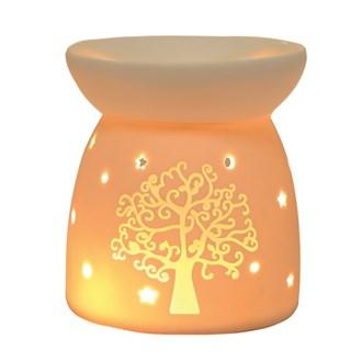 Wax Melt Burner - Ceramic Tree