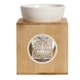 Wax Melt Burner - Zen Bamboo Lotus