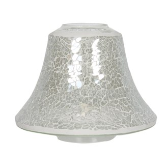 Candle Jar Lamp Shade - Clear Lustre