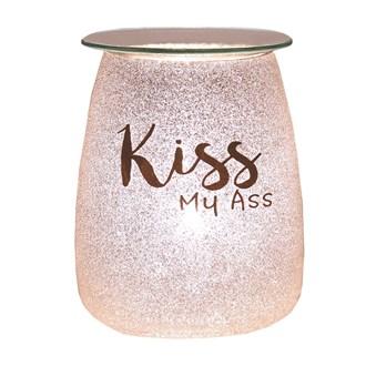 Electric Wax Melt Burner - Glitter 'Kiss My A**'