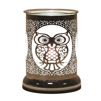 Electric Wax Melt Burner Touch - Silhouette Owl