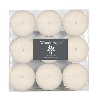 Woodbridge Tealights -  Maxi, Ivory