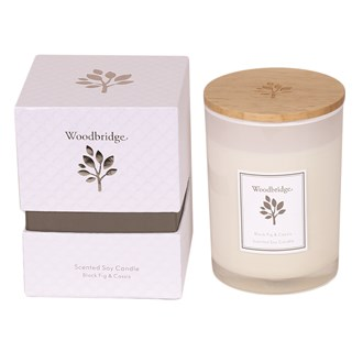 Woodbridge Black Fig & Cassis Medium Soy Candle