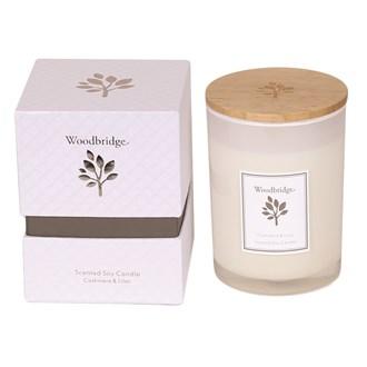 Woodbridge Cashmere & Lilac Medium Soy Candle