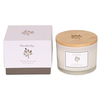 Woodbridge Black Fig & Cassis Large Soy Candle