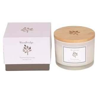 Woodbridge Pomegranate Large Soy Candle